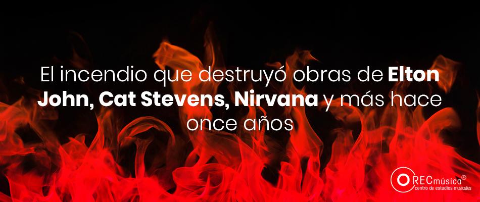Incendio desastre de la industria musical