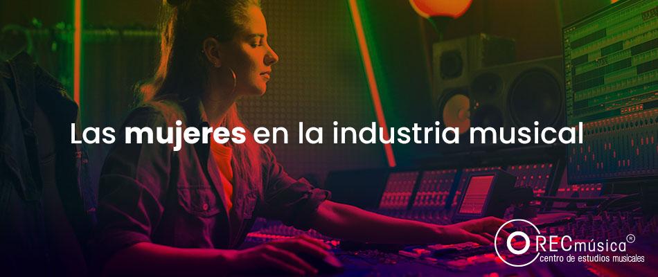 Mujeres enla industria musical