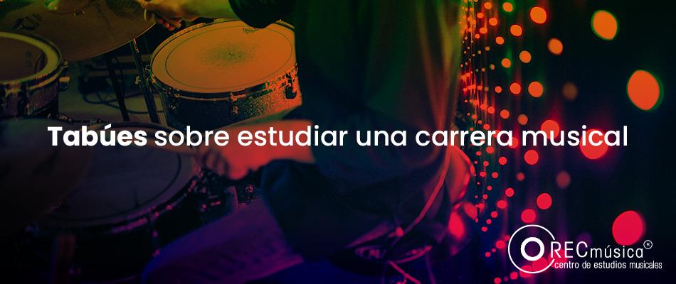 ¿Por qué no estudiar una carrera musical?